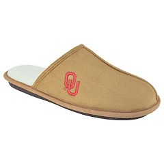 Men's Oklahoma Sooners Scuff Slipper Shoes