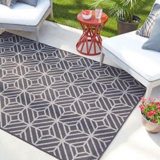 Mohawk® Home Oasis Rockport Geometric Indoor Outdoor Rug