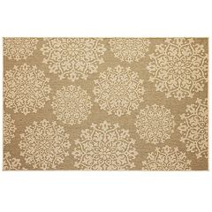 Mohawk® Home Oasis Sanibel Medallion Indoor Outdoor Rug