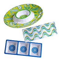 Certified International Boho 3 pc Hostess Set
