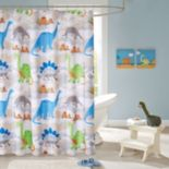 Mi Zone Kids Sharp Tooth Printed Shower Curtain