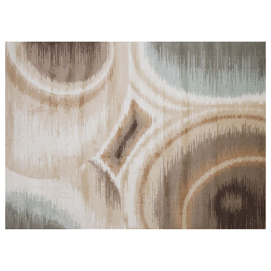 United Weavers Nouveau Ikat Abstract Rug