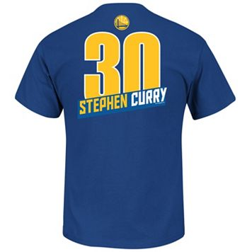 Big & Tall Majestic Golden State Warriors Stephen Curry Player Tee