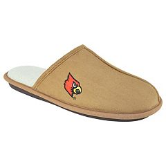 Men's Louisville Cardinals Scuff Slipper Shoes