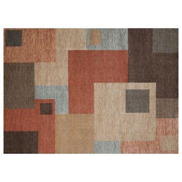 United Weavers Nouveau Suburban Block Geometric Rug