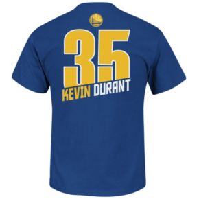 Big & Tall Majestic Golden State Warriors Kevin Durant Player Tee