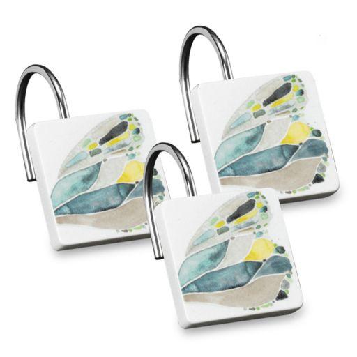 Popular Bath Shell Rummel 12-pack Butterfly Shower Curtain Hook