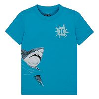 Boys 4-7 Hurley Wrap-Around Graphic Shark Tee
