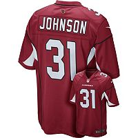 Men's Nike Arizona Cardinals David Johnson Replica NFL Jersey