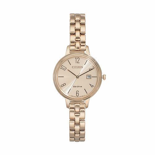 Citizen Eco-Drive Women's Chandler Stainless Steel Watch - EW2443-55X