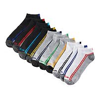 Men's Wilson 10-pack Flat-Knit No-Show Socks
