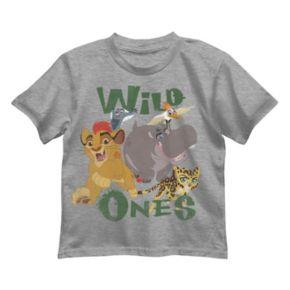 "Disney's The Lion Guard Kion, Bunga & Fuli Boys 4-7 ""Wild Ones"" Tee"