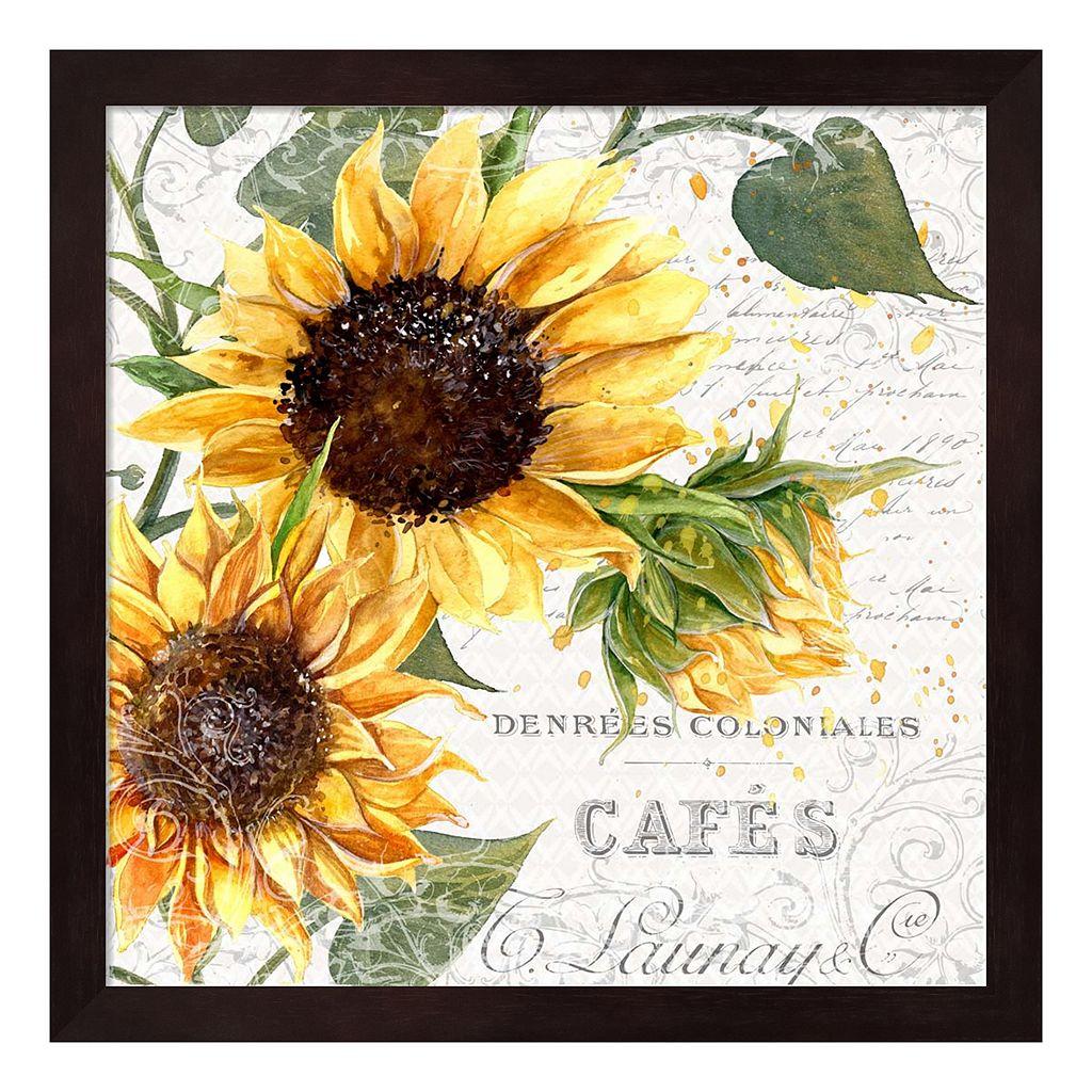 Summertime Sunflowers II Framed Wall Art