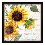 Summertime Sunflowers II Framed Wall Art
