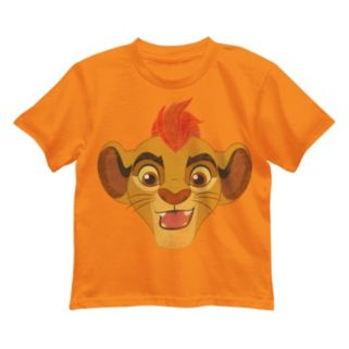 Disney's The Lion Guard Kion Boys 4-7 Face Tee