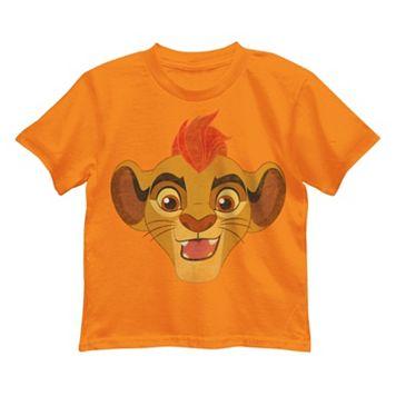 Disney's The Lion Guard Kion Boys 4-7 Face Tee