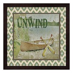 'Unwind' Framed Wall Art