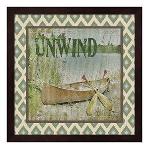 """Unwind"" Framed Wall Art"