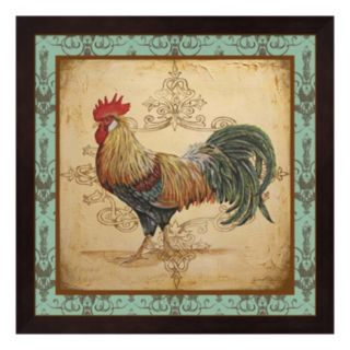 Cock-A-Doodle-Doo Rooster Framed Wall Art