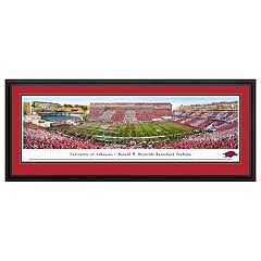 Arkansas Razorbacks Stadium Framed Wall Art