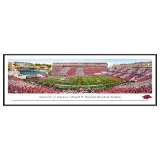 Arkansas Razorbacks Stadium Framed Wall Art