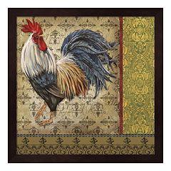 Vintage Rooster I Framed Wall Art