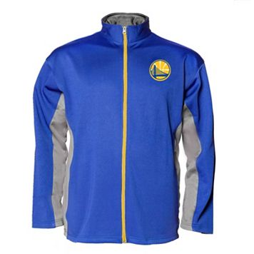 Big & Tall Majestic Golden State Warriors Full-Zip Fleece Jacket