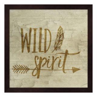"""Wild Spirit"" Framed Wall Art"