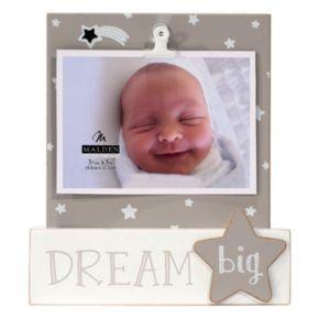 """Malden """"Dream Big"""" Star 3.5"""" x 5"""" Photo Clip"""