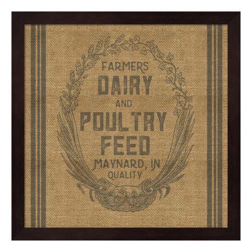 Farmers Dairy Framed Wall Ar...