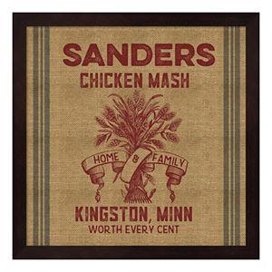 """""""Chicken Mash"""" Framed Wall Art"""