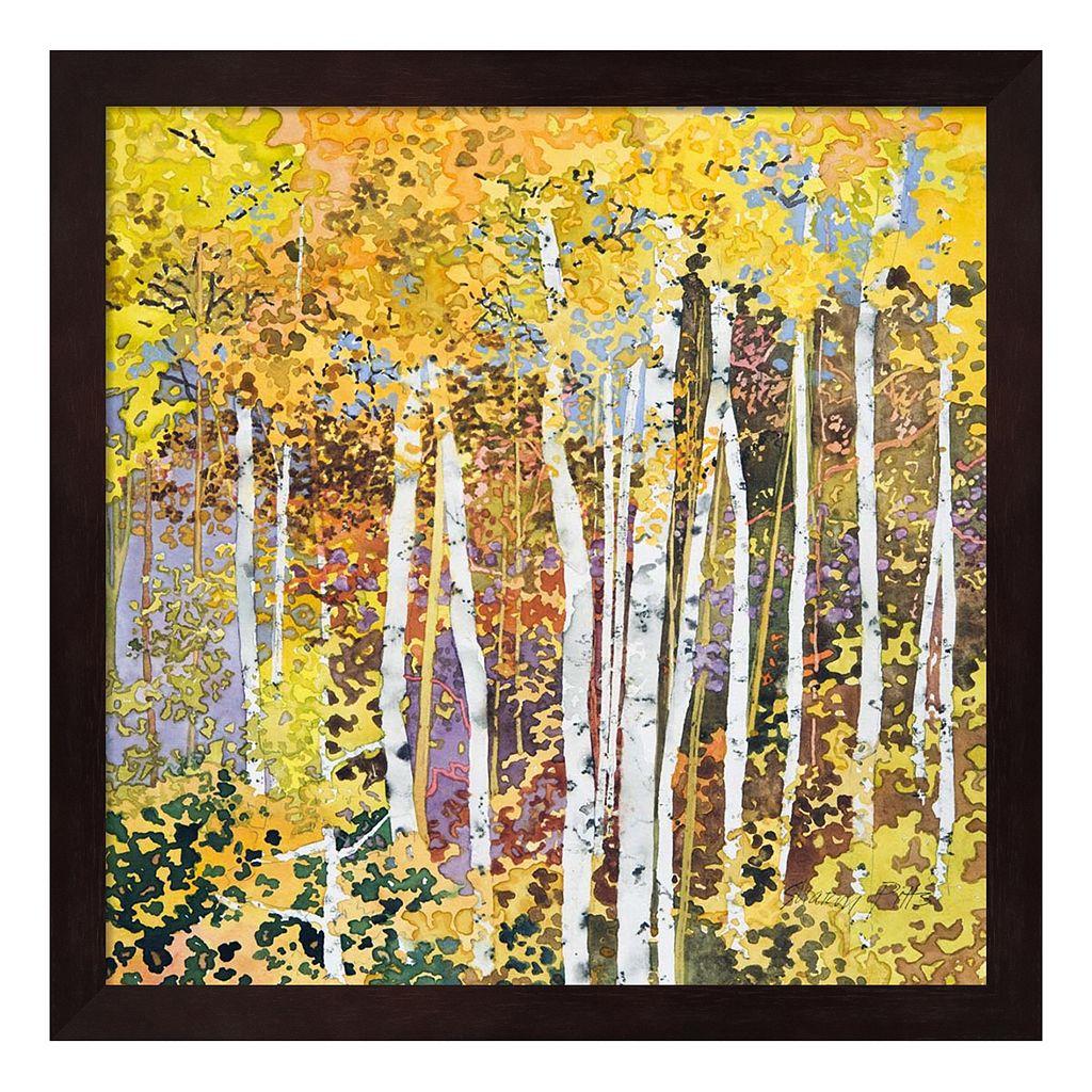 Autumn Birches III Framed Wall Art