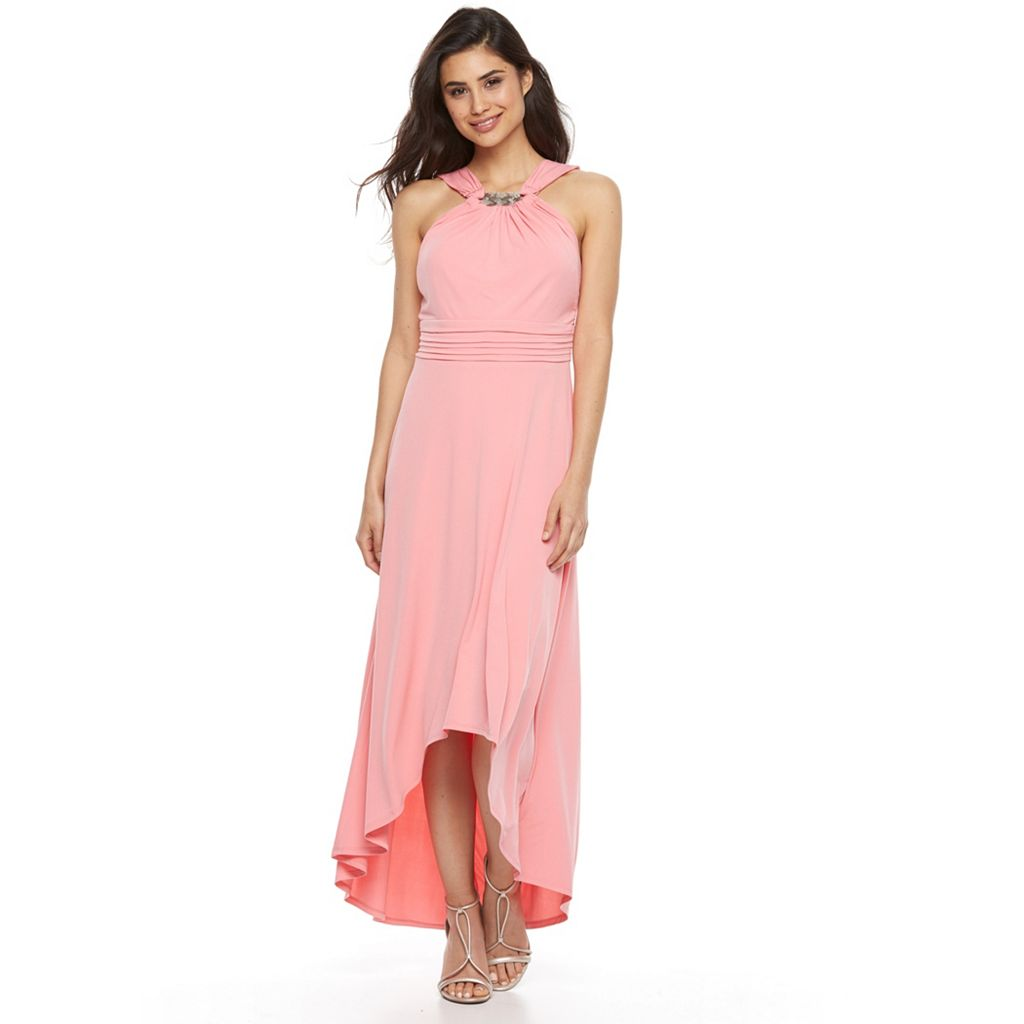 Petite Chaya Halter High-Low Dress
