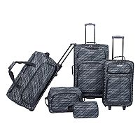 Deals on Prodigy Forest Park 5-Piece Luggage Set + Free $10 Kohls Cash