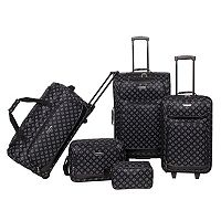 Prodigy Forest Park 5-Piece Luggage Set (Multi Colours) + $10 Kohls Cash
