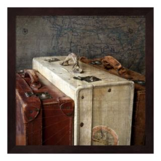 Suitcases 2 Framed Wall Art
