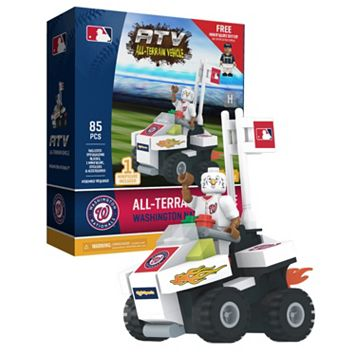 OYO Sports Washington Nationals 85-Piece ATV with Mascot Set