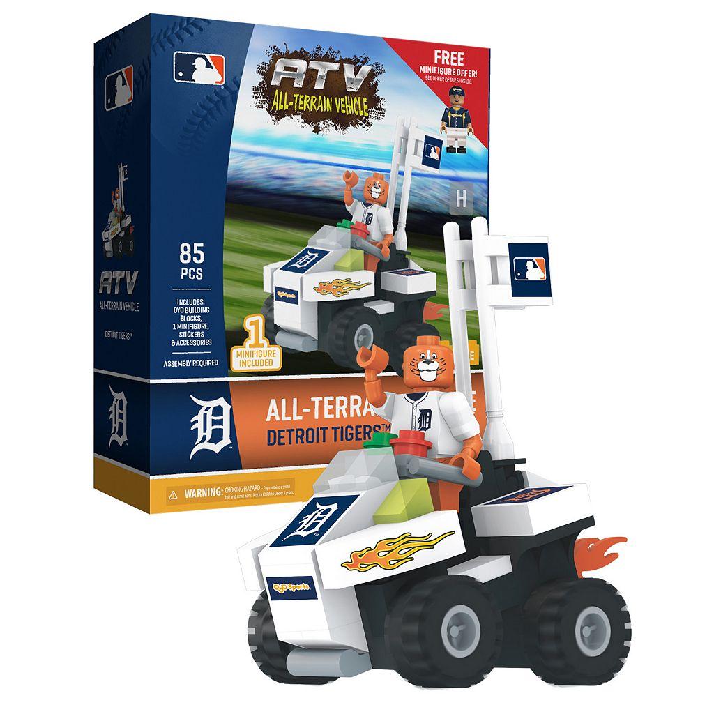 OYO Sports Detroit Tigers 85-Piece ATV with Mascot Set