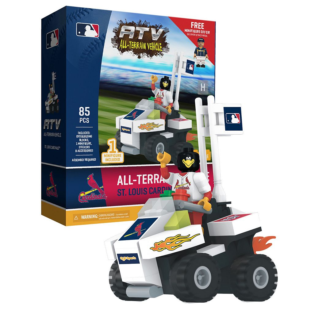 OYO Sports St. Louis Cardinals 85-Piece ATV with Mascot Set