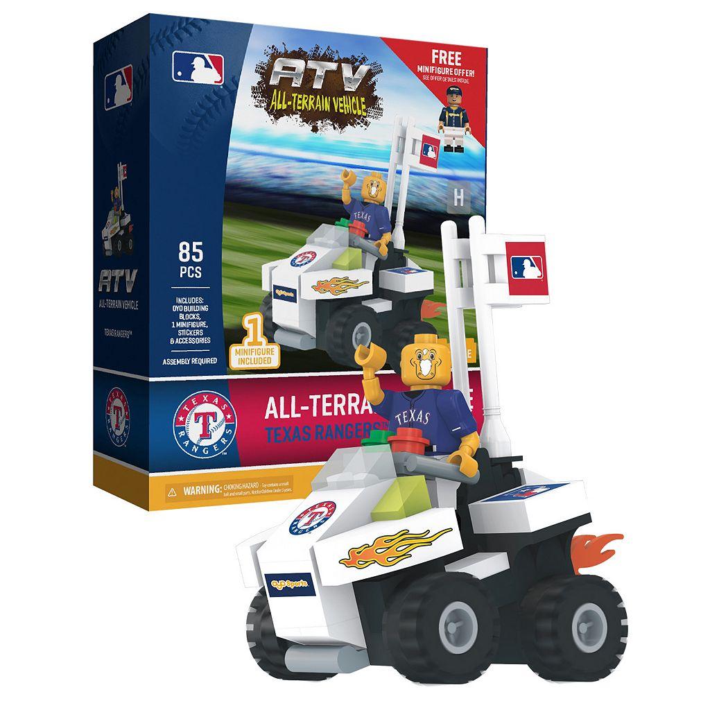 OYO Sports Texas Rangers 85-Piece ATV with Mascot Set