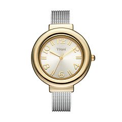 Vivani Women's Textured Cuff Watch