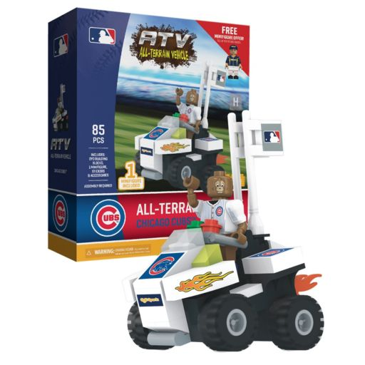 OYO Sports Chicago Cubs 85-Piece ATV with Mascot Set
