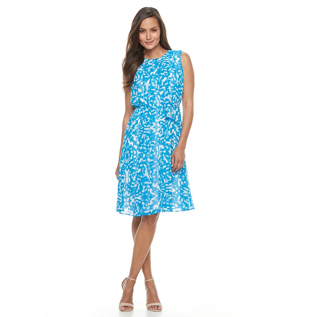 Women's Dana Buchman Chiffon Popover Dress