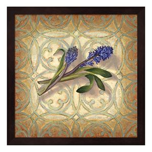 Purple Hyacinth Framed Wall Art