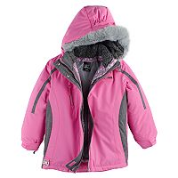 Girls 4-6x ZeroXposur Heavyweight 3-in-1 Kiara Systems Jacket