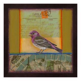 Purple Finch Framed Wall Art