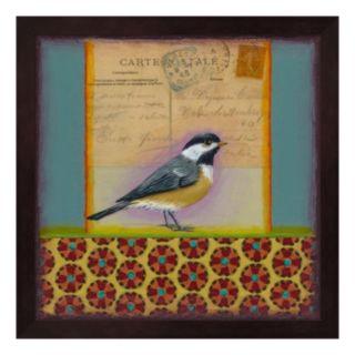 Chickadee Framed Wall Art