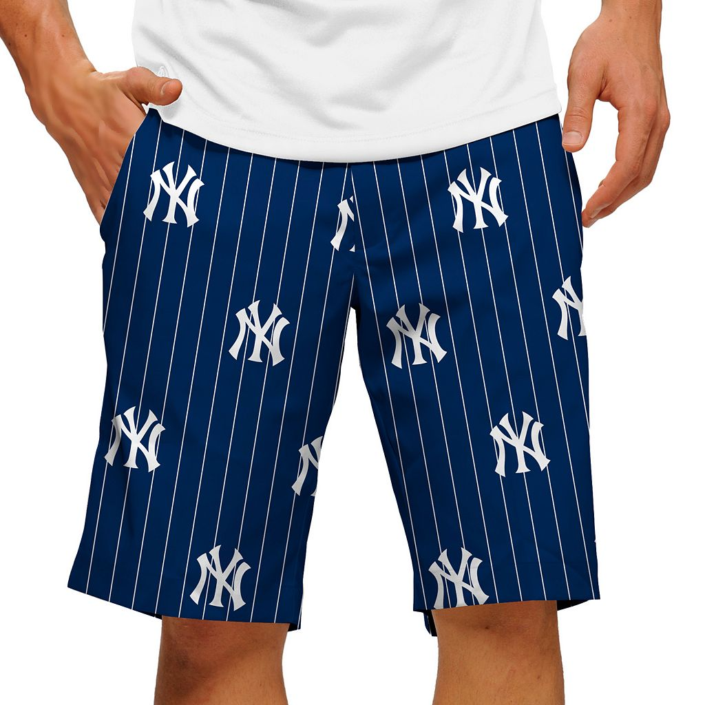 Men's Loudmouth New York Yankees Pinstripe Shorts