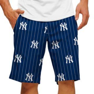 Men's Loudmouth New York Yankees Pinstripe Shorts
