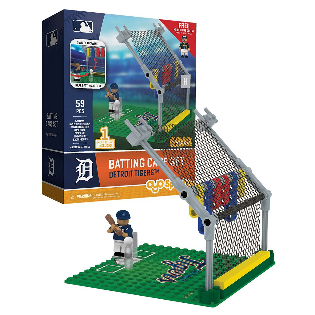 OYO Sports Detroit Tigers 59-Piece Batting Cage Set